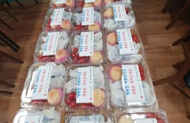 고독사예방사업 `과일도시락, 밑반…게시글의 첨부 이미지