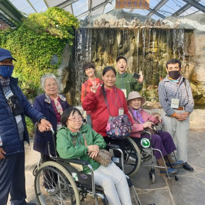 첨부 이미지 3-2019 장애인 사회적응프로그램 희망동아리 10월 활동- 함평국향대전